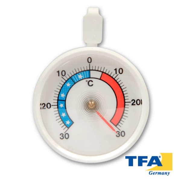 Termómetro analógico para refrigeración Bimetálico