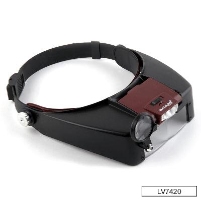 Lupa binocular manos libres LV7420